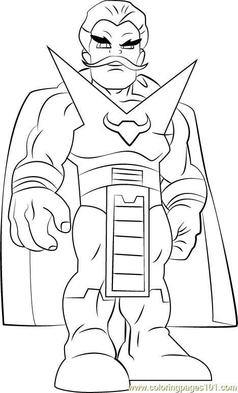 Stranger Coloring Page