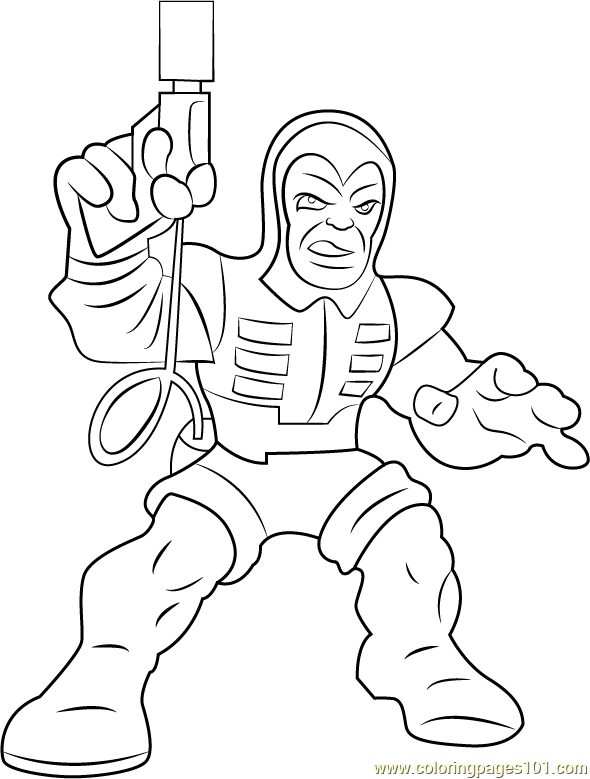 Trapster_2 Coloring Page