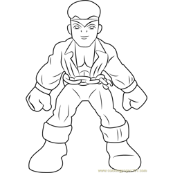 Luke Cage coloring page