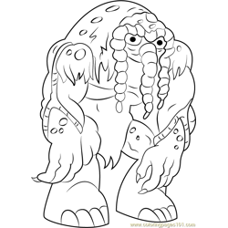 Man-Thing coloring page