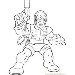 Trapster_2 Free Coloring Page for Kids