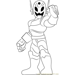 Ultron Free Coloring Page for Kids