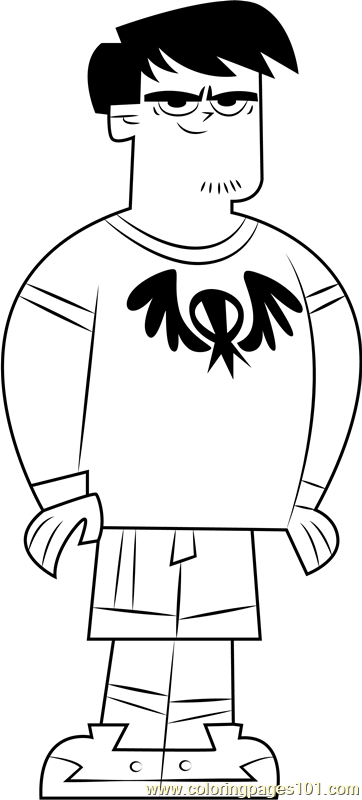 Chet Coloring Page