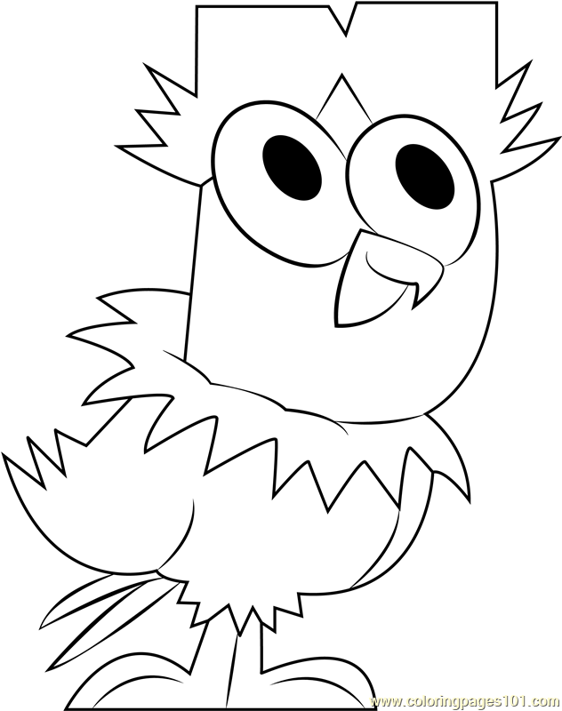Cody Jr Coloring Page