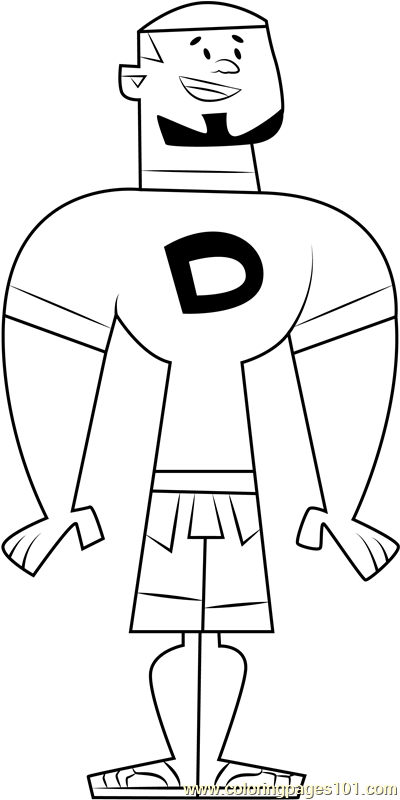 DJ Coloring Page