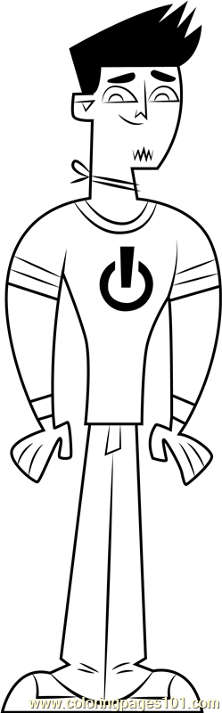 Devin Coloring Page