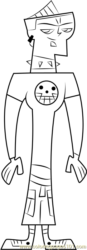 Duncan Coloring Page