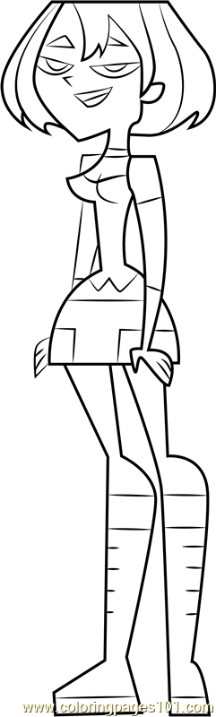 Gwen Coloring Page