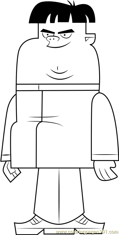 Max Coloring Page