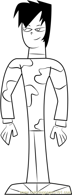 Scott Coloring Page