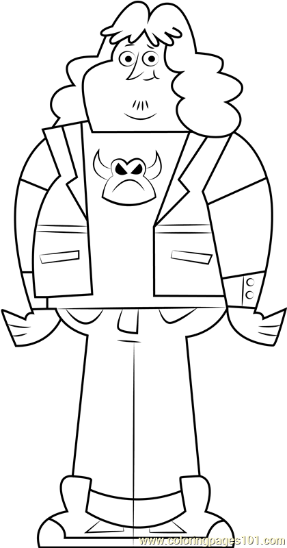 Spud Coloring Page