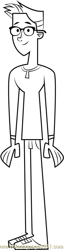 Tom Coloring Page