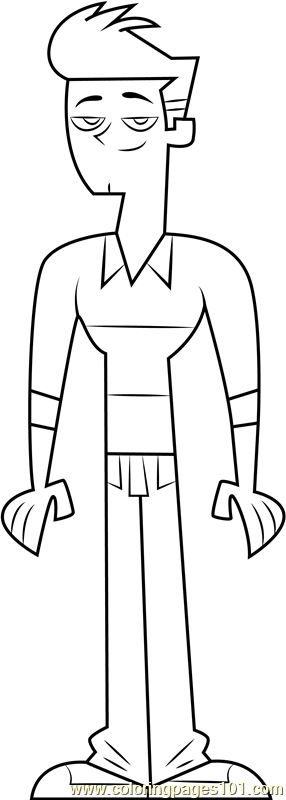 Topher Coloring Page