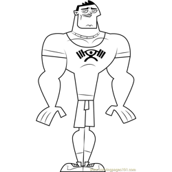 Ryan coloring page