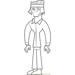 Tyler coloring page