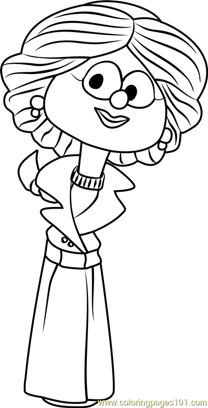 petunia rhubarb coloring pages - photo#1
