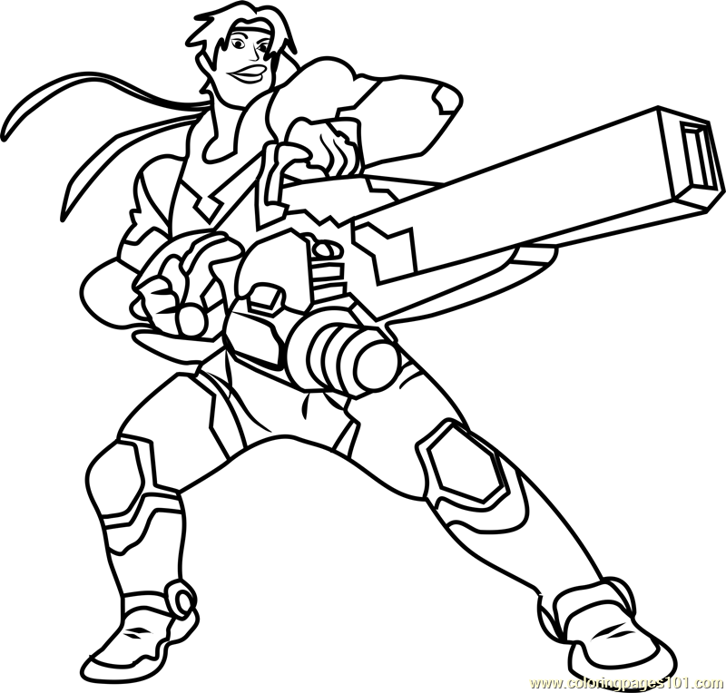 Hunk Coloring Page