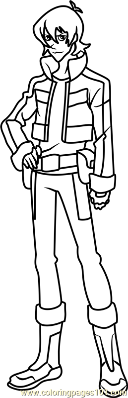 Keith Coloring Page Free Voltron