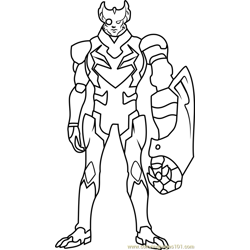 Commander Sendak Free Coloring Page for Kids