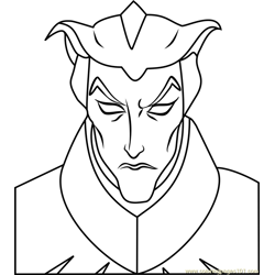Haxus coloring page
