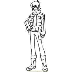 Keith Free Coloring Page for Kids