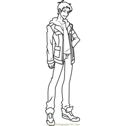 Lance Free Coloring Page for Kids