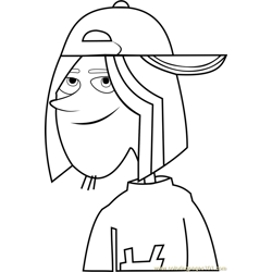 Jimmy Z Free Coloring Page for Kids