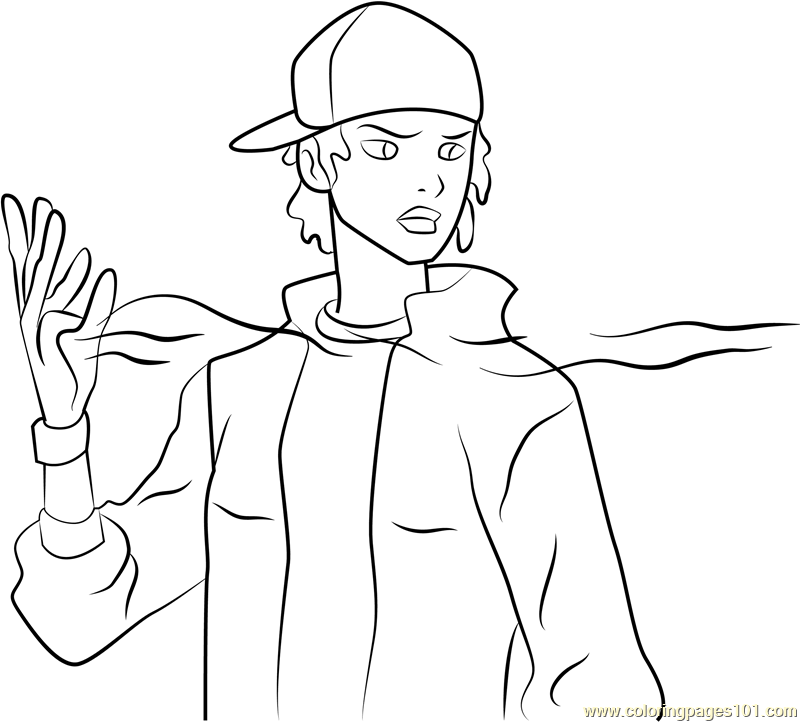 Static Coloring Page