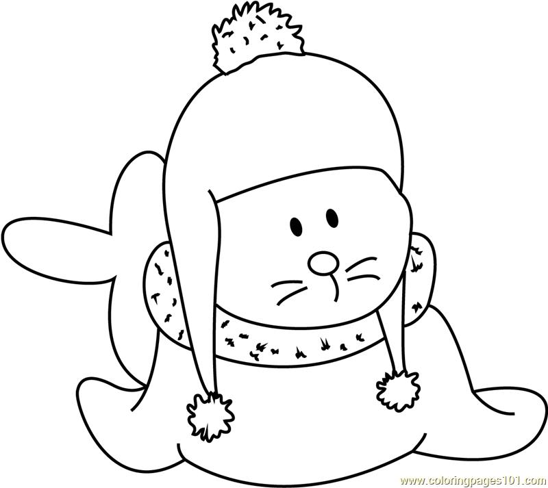 baby santa claus coloring page
