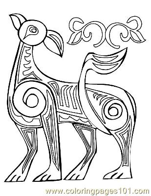 Celtic029 Coloring Page - Free Celtic Coloring Pages ...