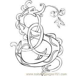 Celtic014 Free Coloring Page for Kids