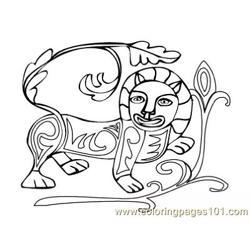Celtic044 Free Coloring Page for Kids