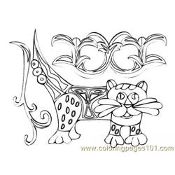 Celtic069 coloring page