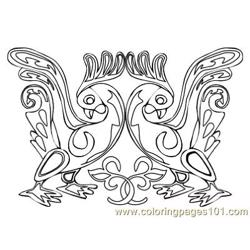 Celtic073 coloring page