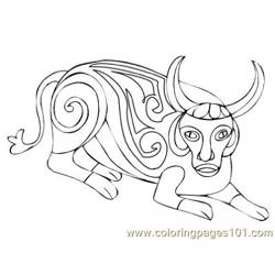 Celtic076 coloring page