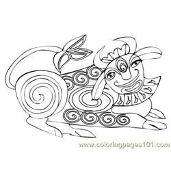 Celtic077 coloring page