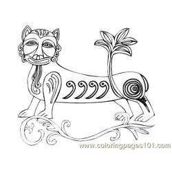Celtic084 coloring page