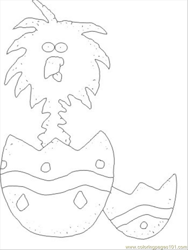 Eggychick Coloring Page