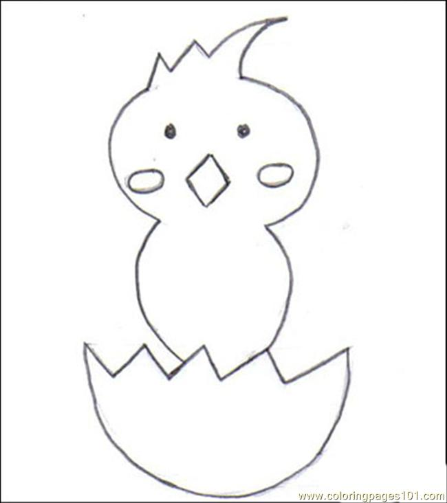 Aster Chick Step 3 Source Uhp Coloring Page