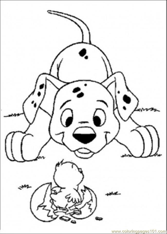 Atian And Chick Coloring Page Coloring Page