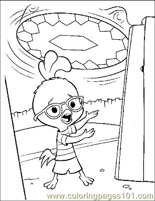 Chicken Little 2 Coloring Page