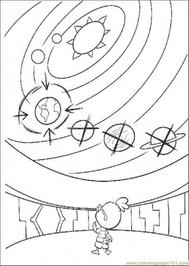 Looking For The Solar System Coloring Page