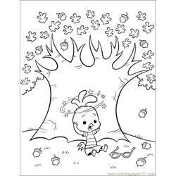001 Chicken Little 46 Free Coloring Page for Kids
