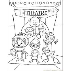 001 Chicken Little 51 Free Coloring Page for Kids