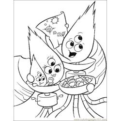 001 Chicken Little 54 Free Coloring Page for Kids