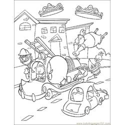 001 Chicken Little 57 Free Coloring Page for Kids
