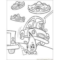 001 Chicken Little 63 Free Coloring Page for Kids