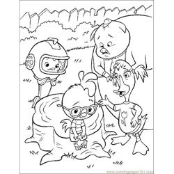 001 Chicken Little 65 Free Coloring Page for Kids