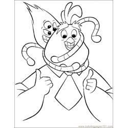 001 Chicken Little 8 Free Coloring Page for Kids