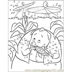 Chicken Little 10 Free Coloring Page for Kids